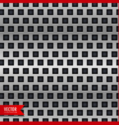 Metal background with tiles pattern vector
