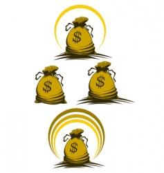 money bag vector image vector image