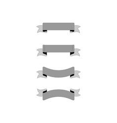 Ribbons-380x400 vector image vector image