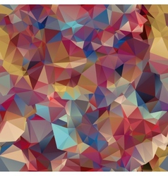 Triangle seamless pattern of geometric shapes vector image