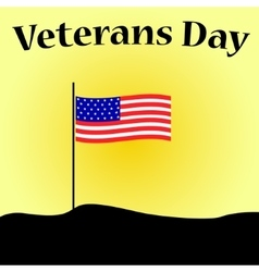 Veterans day in usa vector