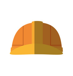 Worker safety helmet vector