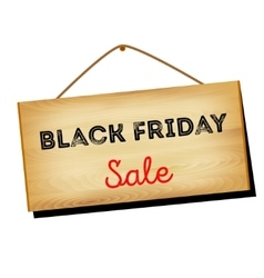 Black Friday sales A w vector image