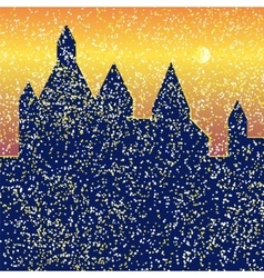 Castle bright vector
