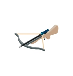 Crossbow isometric 3d icon vector image