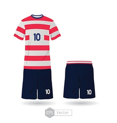 usa team uniform 01 vector image vector image