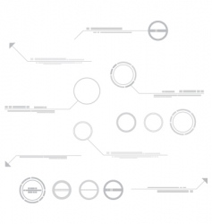 Technical elements vector