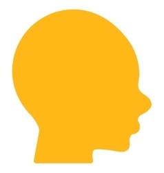 Boy Head Icon vector image