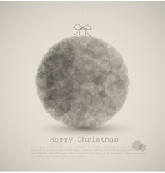 modern abstract christmas vector image vector image