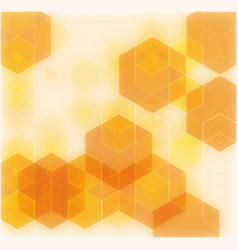 Orange abstract background - trendy business vector