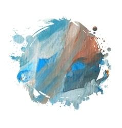 spot watercolor vector image vector image