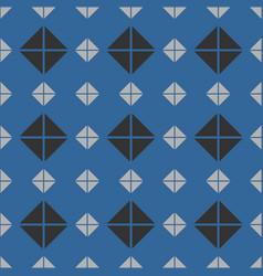 tile mint blue grey and black pattern or website vector image