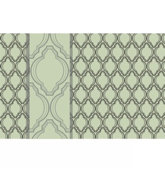 Ornament vintage pattern vector