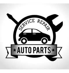 Vehicle service repair vector
