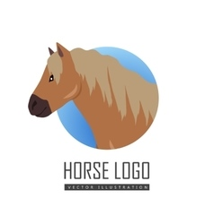 Red Pony Logo vector image