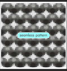 Seamless patterns with halftone dots 18 vector