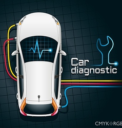Car diagnostics device vector