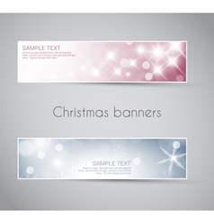 new year horizontal banners vector image