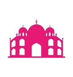 Basilica of rome landmark icon vector