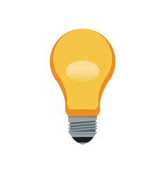 Bulb light idea innovation ilumination image vector