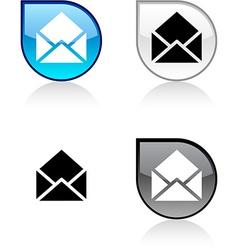 E-mail button vector