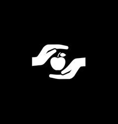 Health care icon flat design vector