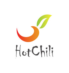 Hot chili logo vector