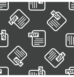 Pdf file pattern vector