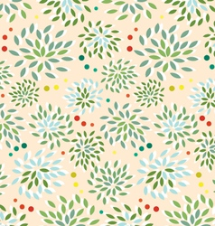 seamless-floral-pattern vector image