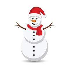 snow man2 vector image