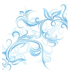 Window frost ornament vector