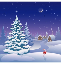 Christmas eve vector image vector image