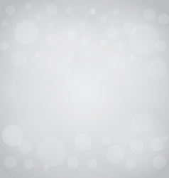 defocused lights gray abstract bokeh background vector image