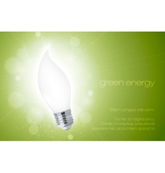Energy saving light bulbs vector