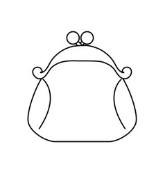 money wallet purse vector image