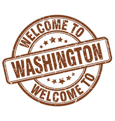 Welcome to washington vector