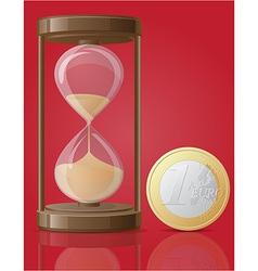 hourglass 04 vector image