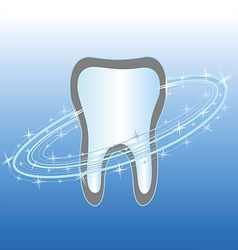 dental health care symbol icon vector image