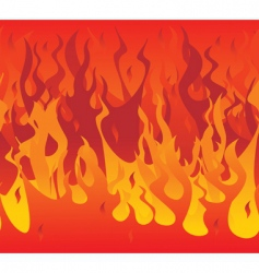 fire illustration vector image