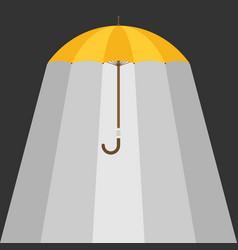 Umbrella background vector