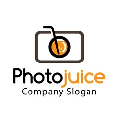 Photo juice design vector
