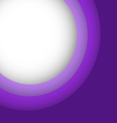 Abstract violet background with copy space vector image vector image