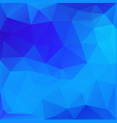 Blue abstract polygonal background vector