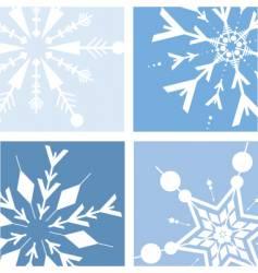 retro snow vector image