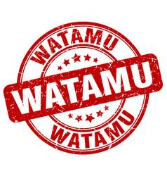 Watamu stamp vector