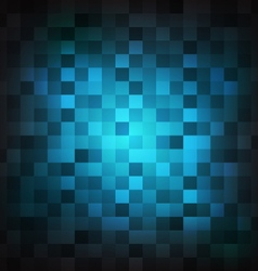 Abstract blue square shape background vector