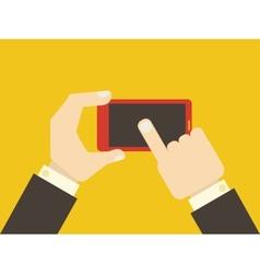 Flat smartphone vector