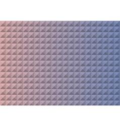 Gradient rose quartz and serenity colored triangle vector