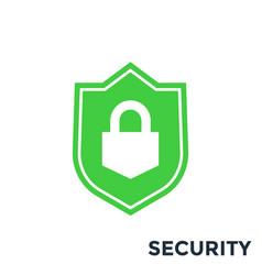 Shield security icon vector