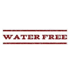 Water free watermark stamp vector